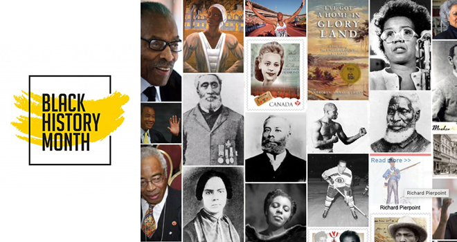 Black History Month: Prominent Black Canadians